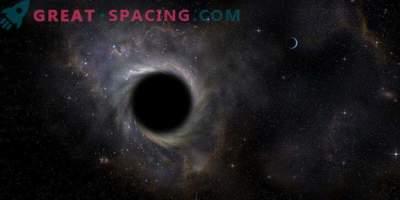 Учените за първи път са заловили черна дупка на вечеря! Материалът попада в бездната при 30% от скоростта на светлината