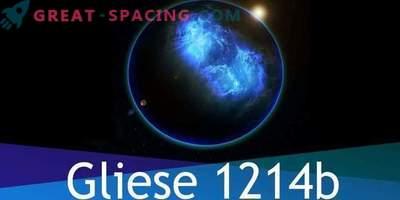 Der Exoplanet von Gliese 1214b besteht ausschließlich aus Wasser, aber gibt es dort Leben?