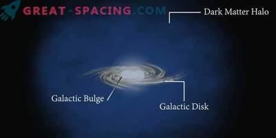 Тъмната материя не участва в емисиите на галактически издатини?