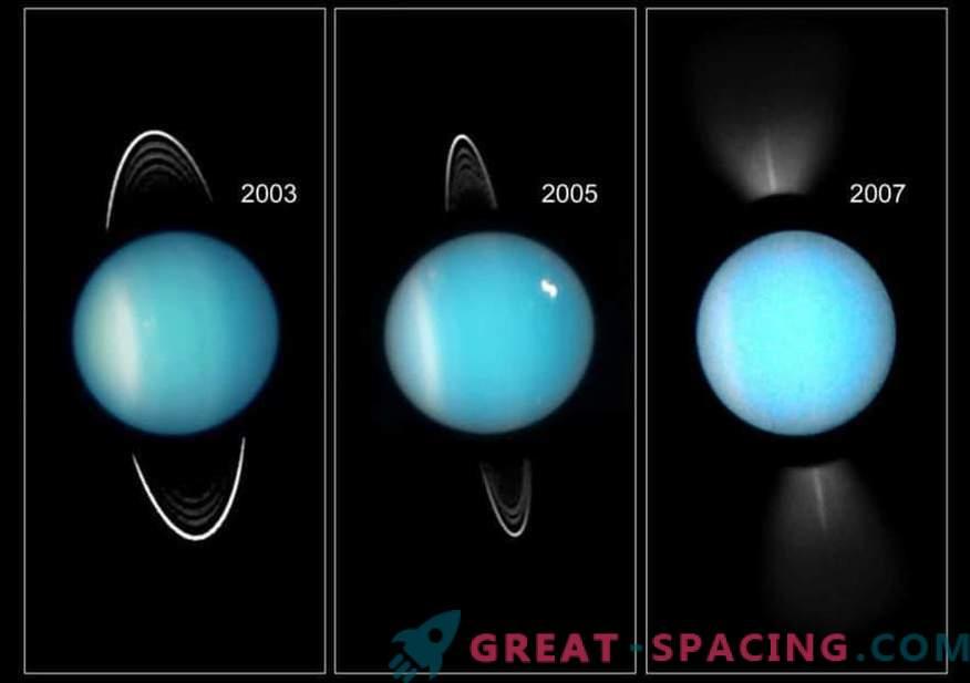 Планета отстрани. Какво се е случило с Уран в миналото