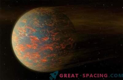 Двете страни на екзопланетата са твърди и стопени