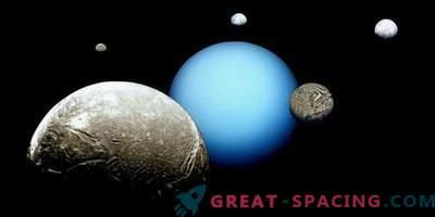 Луните на Уран могат да се сблъскат