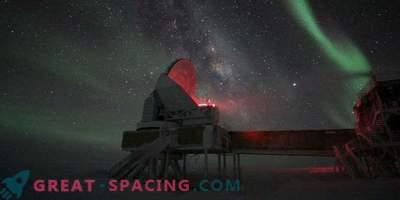 Крайната астрономия разкрива тайните на Южния полюс
