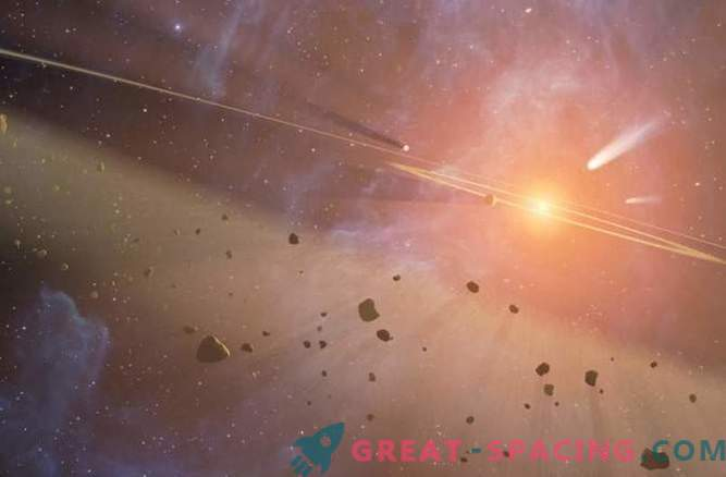 Друг пояс на Кайпер е открит около близката звезда