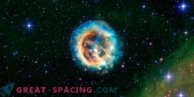 Експлозията на умираща масивна звезда