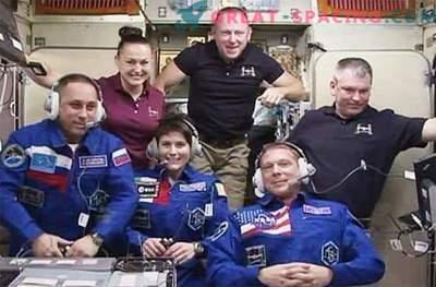 Neue Besatzungsmitglieder sind sicher auf der ISS angekommen