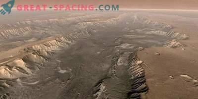 Огромни прахови бури разкриват тайните на времето на Червената планета
