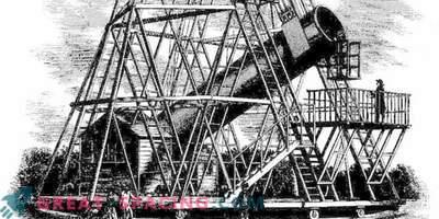 Как изглеждаше гигантският телескоп на Уилям Хершел