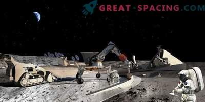Русия и Съединените щати са изправени пред лунни изследвания