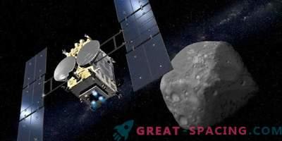 Hayabusa-2 ще се опита да добие първата проба от астероиди следващия месец