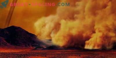 За първи път на Титан се регистрират прахови бури