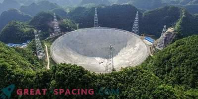 Китай е създал най-големия телескоп за търсене на извънземни живот