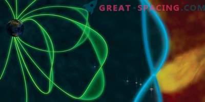 Мощните импулси създават вълнички на магнитния щит на Земята