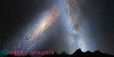 Учените сега знаят точно кога се срещаме с галактиката Андромеда
