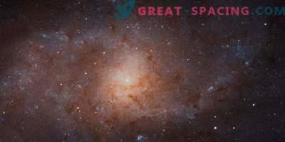 Удивителната триъгълна галактика в изследването на Хъбъл