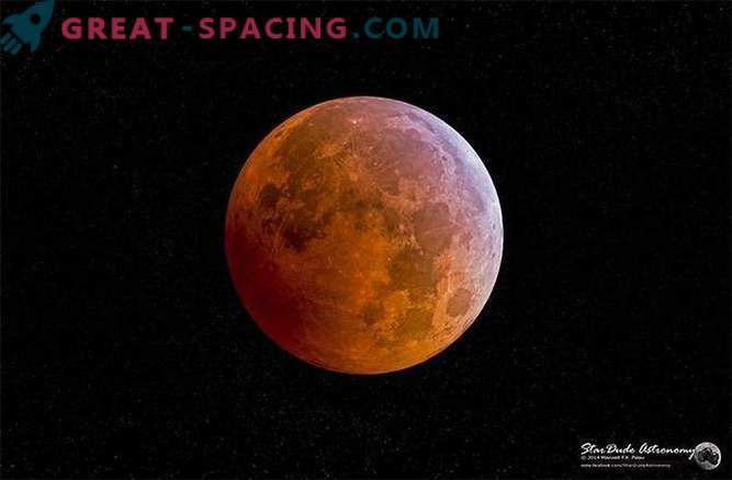 Superlunar и лунно затъмнение се случват едновременно на 27 септември