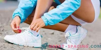 Как да се връзват дантели на маратонки?