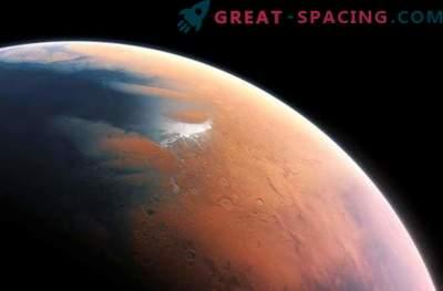 Marte iese din Epoca de gheață