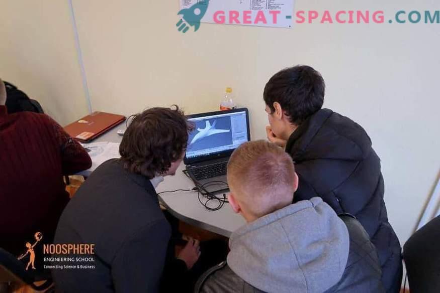 Max Polyakov gibt einen Start für die Entwicklung von studentischen Raumfahrtprojekten