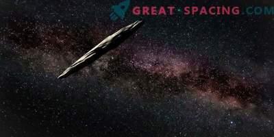 Тайнственият междузвезден гост Oumuamua година по-късно