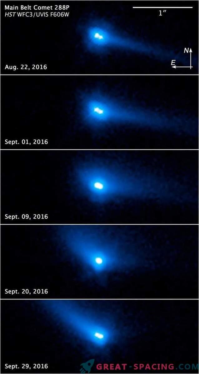 Хъбъл намери уникален обект в Слънчевата система
