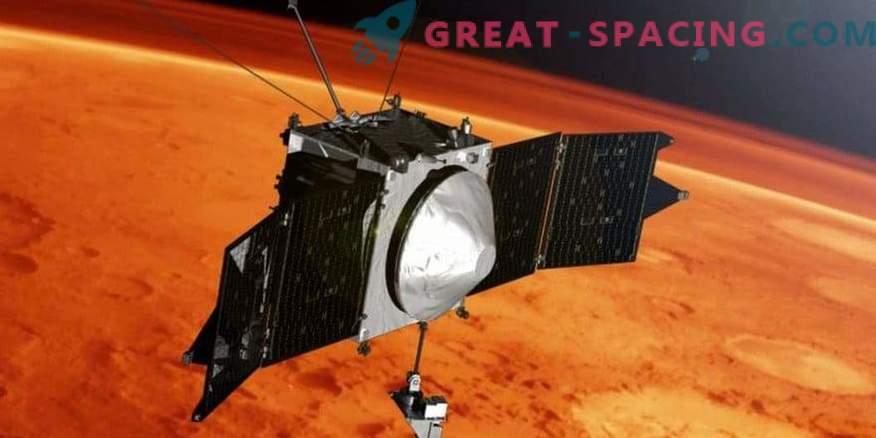 MAVEN празнува 4 години в орбита на Марс