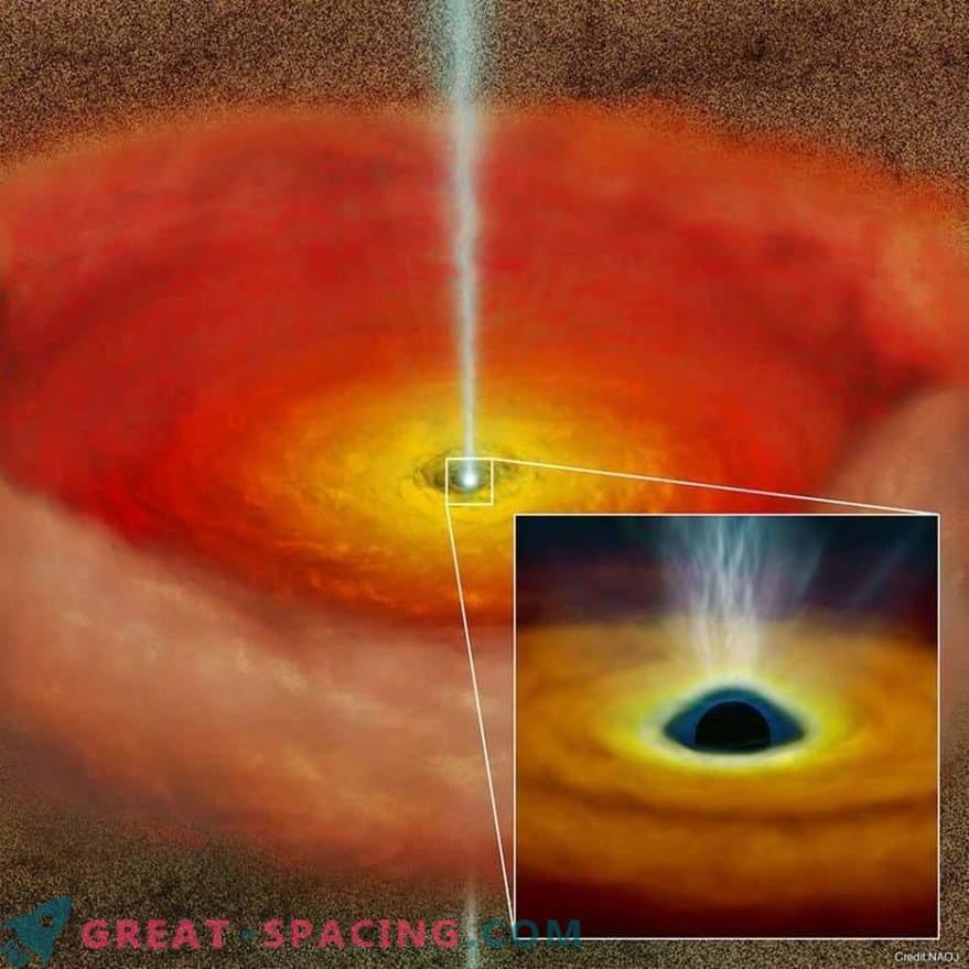 Въртенето на черни дупки генерира високоскоростни джетове?