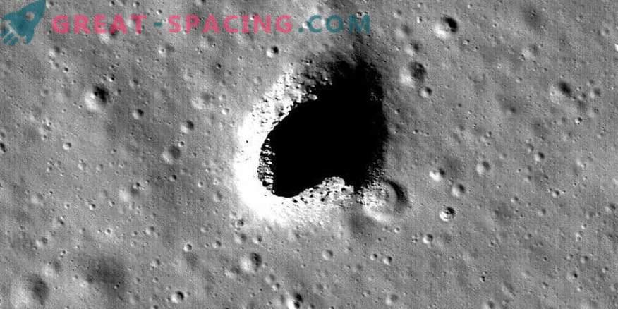 Потенциално местообитание на Луната