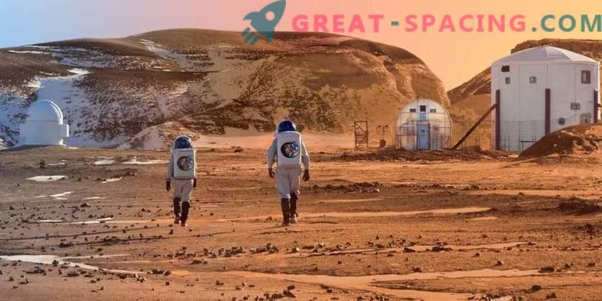 Ванадийът ще помогне за откриването на живота на Марс.