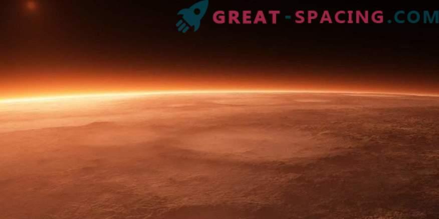 Историята на наклона на Марс е кръстен на техниците от военновъздушната база на САЩ