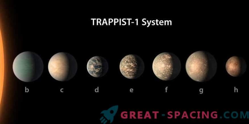 Планета на Star TRAPPIST-1 може да бъде удобна за живота.