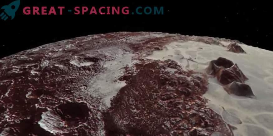 Видео: Полет над Плутон