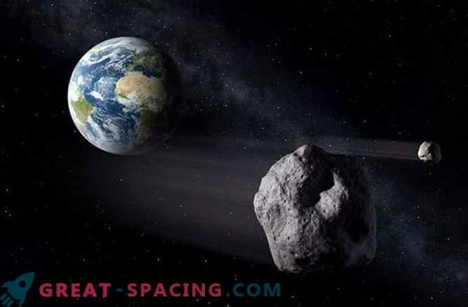 Атероид с размер на малка планина прелетя покрай Земята в понеделник (26 януари)