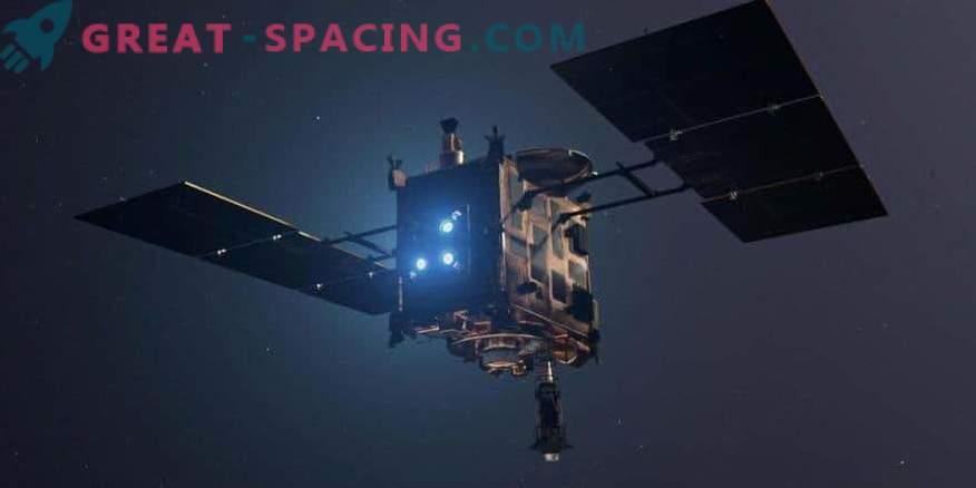 Сянката на Hayabusa-2 бе отбелязана на астероида Ryugu