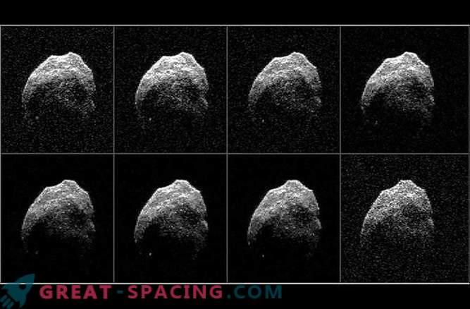 Учените са получили радарни изображения на ужасна комета