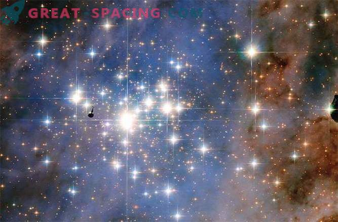 Hubble видяха звездни диаманти