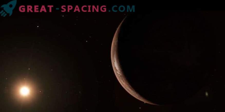Ледената планета има способността да има извънземен живот