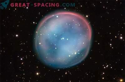 Призрачна топка - сбогом на умираща звезда