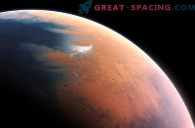 Атомният кислород, намерен на Марс