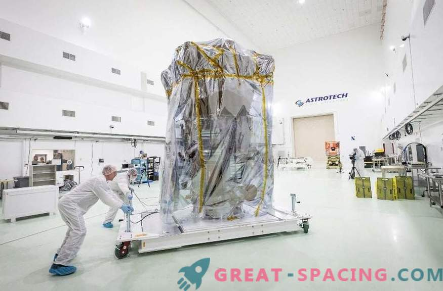 Слънчевата мисия на НАСА пристигна във Флорида