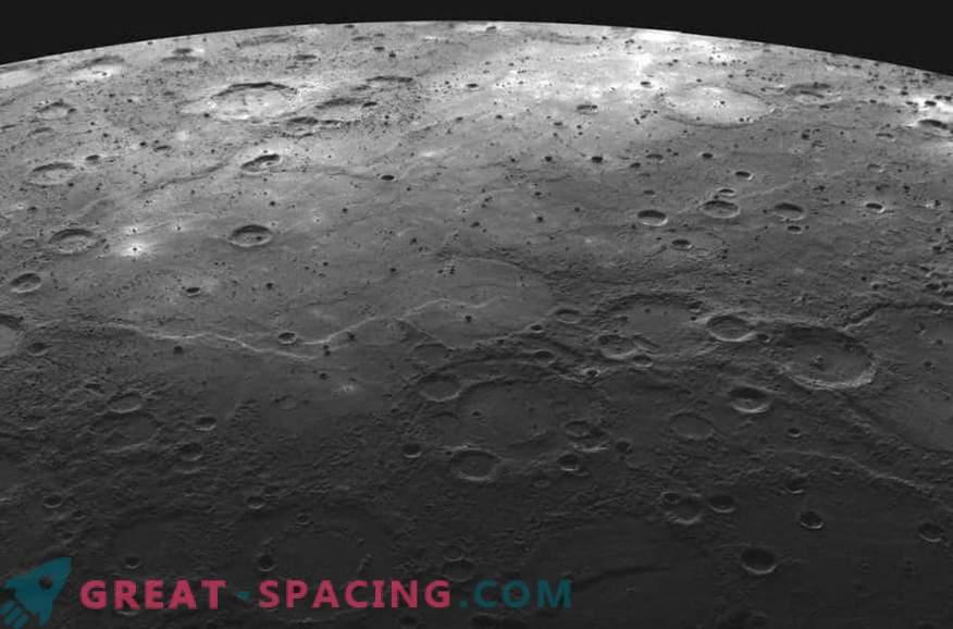 Планета Меркурий е намалена по размер!