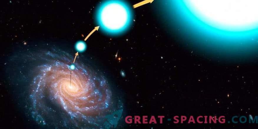 Галактическия бяг: където избяга хипер скоростната звезда