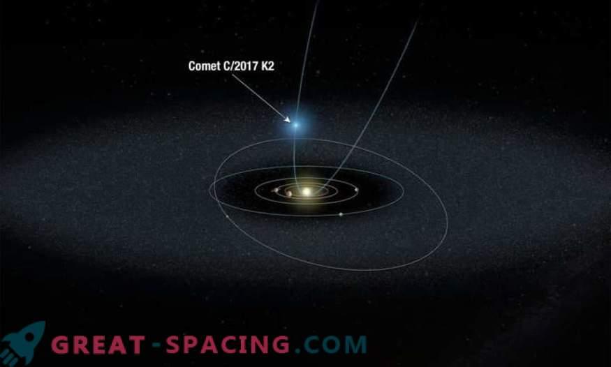 Хъбъл наблюдава най-далечната комета