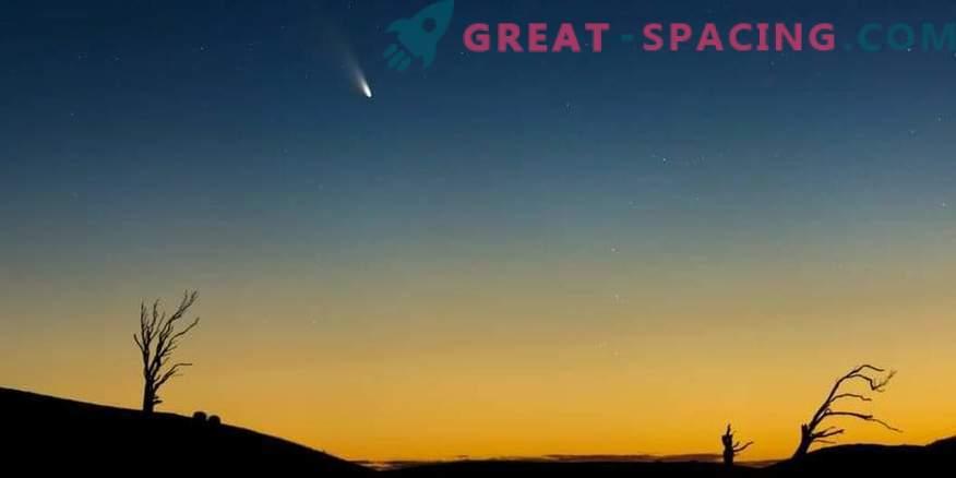 Забавяне на ротацията на кометата при приближаване към Земята