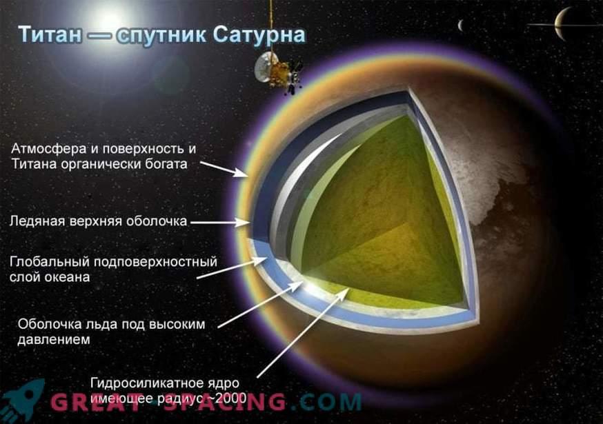 Ниска гравитация ви позволява да летите на Титан