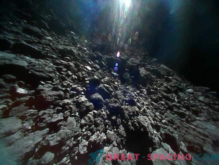 Невероятни гледки на астероида Ryugu от японски роботи