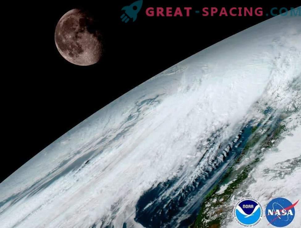 Зашеметяващ изглед на планетата от нов метеорологичен сателит