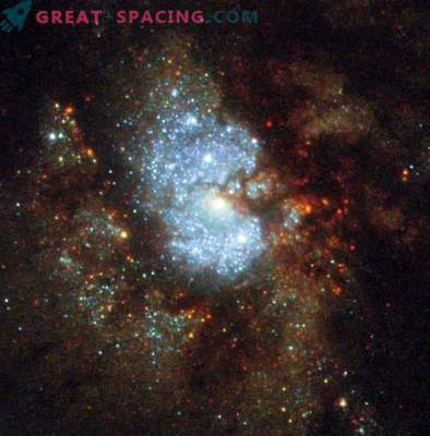 Скритата галактика Хъбъл