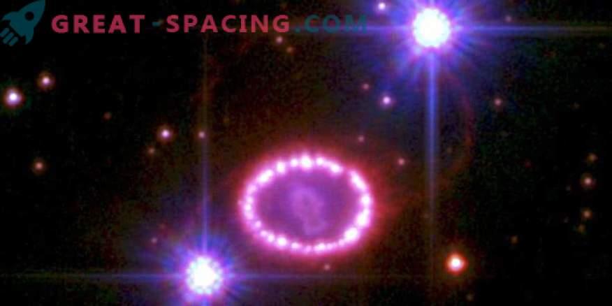 1987A остатъчно магнитно поле на свръхнова