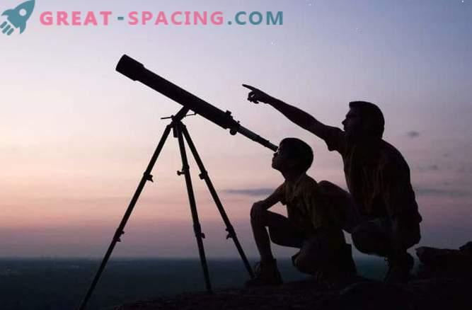 Какво може да се види с домашен телескоп